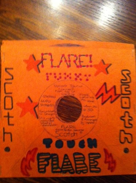 Flare's funky era.