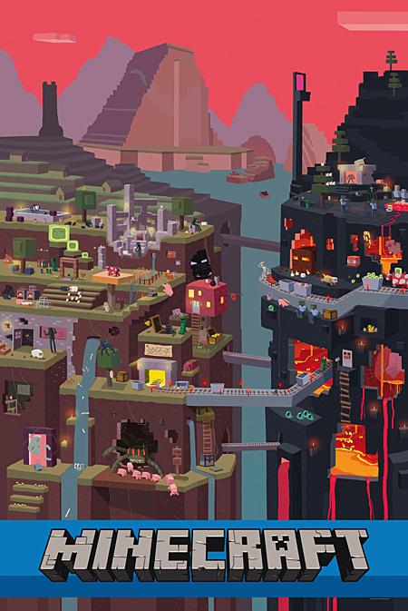 SamCube-Minecraft-Poster-24x36_876586